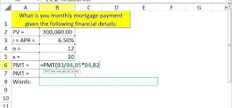 How To Use The Pmt Function In Excel 2013 Function In Excel Note