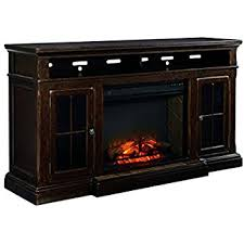 ashley furniture fireplace tv stand. Interesting Stand Ashley Furniture Signature Design  Roddinton TV Stand 74 In  Rectangular Dark Brown On Fireplace Tv R