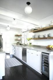 floating shelves in kitchen urban galley kitchen house reclaimed wood floating shelves floating shelves kitchen wood