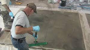 how to stain concrete tips and tricks