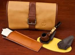 claudio albieri accessories at smokingpipes com italian leather roll