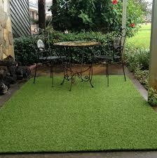 artificial turf rug patio mats