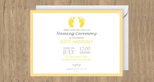 Get Together Invitation Template Enchanting 48 Naming Ceremony Invitation Templates Printable PSD AI Vector