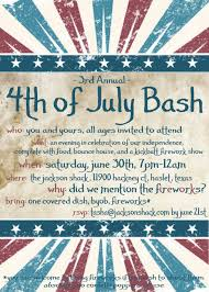 4th of july party invitations for the invitation templates