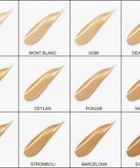 Nars Sheer Glow Color Chart Nars Sheer Glow Foundation Different Shades Available