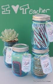 you can put any gift in the mason jar
