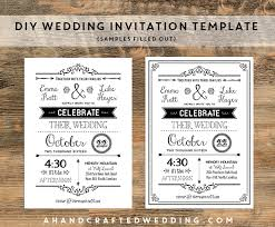 Online Invitations Templates Printable Free Stunning Invitation Template Diy Wedding Invitation Template Invitation