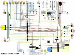 wiring schematic 4 stroke net all the data for your honda honda cb400 wiring schematic