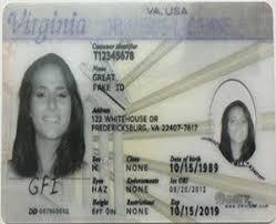 Id Card Fake Great Buy Maker Virginia Scannable 64TtEq5wx