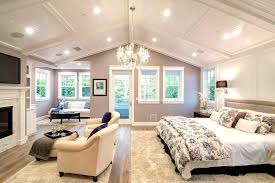 cathedral ceiling decorating ideas bedroom traditional with seating area new construction white wall paneling kitchen contemporary