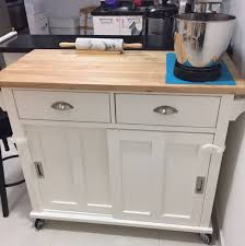 crate barrel belmont kitchen island in white home liances on