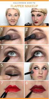 1920 s inspired makeup tutorial you flapper hair and makeup photo 2