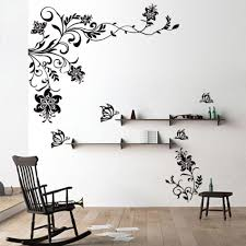 hobby lobby wall decals erfly vine flower wall decals vinyl art stickers living room inside unique