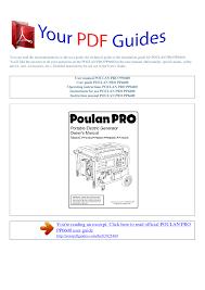 Poulan Spark Plug Chart Operating Instructions Poulan Pro Pp6600 Manualzz Com