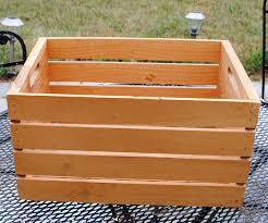 diy wooden crate projects