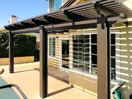 Alumawood patio covers in lattice or solid styles.