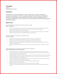 Inspirational Accountant Resume Sample Pdf Mailing Format