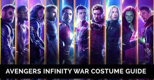 avengers infinity war costumes
