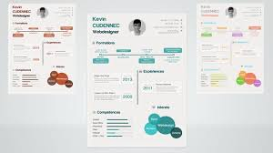 Infographic Resume Template Download Free