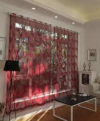 wohnzimmer gardinen und vorhänge - 26 ausgefallene ideen ...