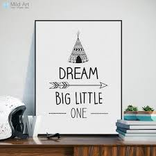 inspirational quotes wall art cool nordic black white dream poster a4 modern on inspirational quotes wall art with inspirational quotes wall art cool nordic black white dream poster