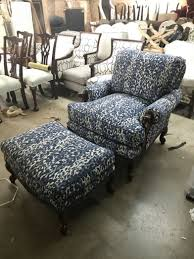 Living Room Chairs With Ottoman Beautiful Reupholstered Living Room Chair And Ottoman Design Ideas
