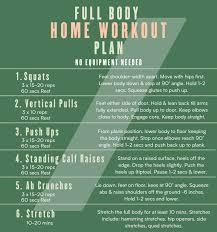 5 full body exercises for a beginner