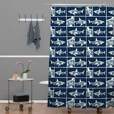 shark x ray shower curtain zoom lightbox moreview lightbox moreview