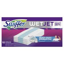 swiffer wetjet hardwood floor spray mop pad refill extra power