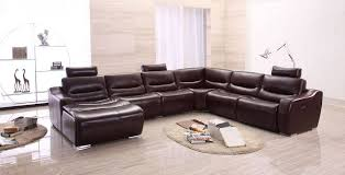 genuine and italian leather corner sectional sofas