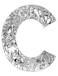 Small Picture Animal Alphabet Letter C Coloring Pages Projects to Try