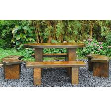 japanese patio furniture. Image Of: Japanese Garden Bench Sets Patio Furniture A