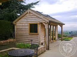 home office in garden. Radnor Oak - Home Office Framed Annex Garden Room In