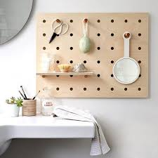 Space friendly furniture Tiny House Nation Pegboards Are Making Comeback And Its No Surprise Why They Are Great Way Of Increasing Storage Space In The Home Without Having To Compromise On Floor Dorm Co Sustainable Furniture Top Picks Uk Ecofriendly Furniture Guide