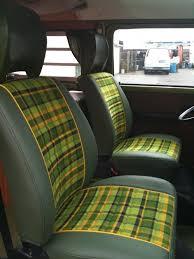 repurposed upholstery for 1979 vw bus honu li u
