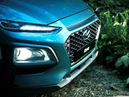 2018 hyundai kona release date. beautiful kona 2018 hyundai kona suv images front angle bumper headlight and release date