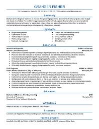 Engineering Resume Sample Free Resume Templates 2018
