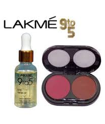lakme 9 to 5 face serum mac 2 color blush makeup kit gm lakme 9 to 5 face serum mac 2 color blush makeup kit gm at best s in india snapdeal
