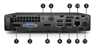 overview hp elitedesk 705 g3 desktop mini business pc 1 displayport monitor connector 7
