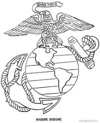 Unique Marine Coloring Pages Preschool To Amusing Coloring Books