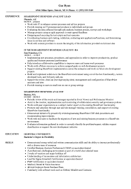 Business Analyst Resume Sharepoint Business Analyst Resume Samples Velvet Jobs 25