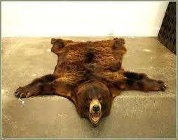 fake polar bear rug with head fake bear rug faux bear skin rug round area rugs fake polar bear rug with head polar bear skin