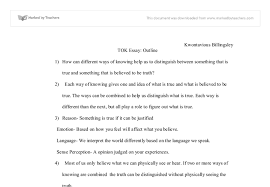 how can different ways of knowing help us to distinguish between  document image preview