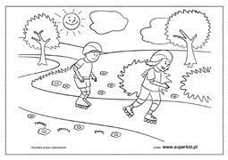 Zdrowie, życie i bezpieczeństwo dzieci jest najwyższą wartością, o którą powinniśmy się troszczyć wszyscy!!! Kolorowanki Lato I Wakacje Superkid