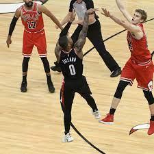 Bulls vs. Blazers final score: Damian ...