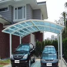 polycarbonate car shelter