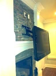 fancy mounting tv above brick fireplace mount on brick mounting a over a fireplace into brick fancy mounting tv above brick fireplace