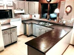 covering formica countertops with tile resurfacing laminate bout can you paint to look like granite refinishing