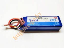 <b>Аккумулятор Spard LiPo 11.1V</b> 3S 30C 2200mAh (T-plug ...