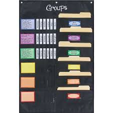 Small Group Management Pocket Chart